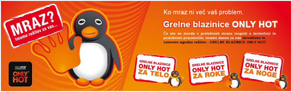 Grelne Blazinice Only Hot