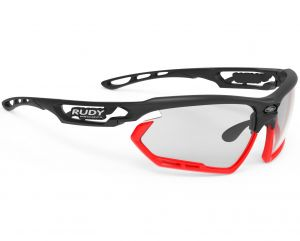 Rudy Project FOTONYK matte black red fluo ImpacX 2Black