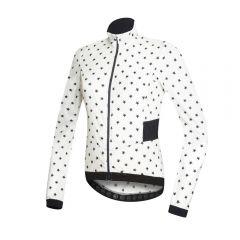 Dotout TEMPO ženska kolesarska vetrovka stars bela