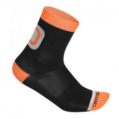 Nogavice Dotout LOGO black orange