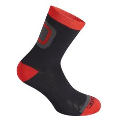 Nogavice Dotout LOGO black red