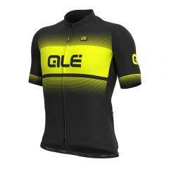 Ale BLEND moška kolesarska majica črna/neonsko rumena