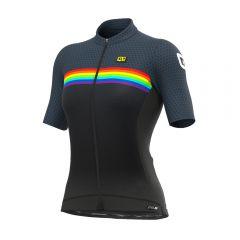 Ale BRIDGE ženska kolesarska majica črna