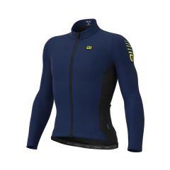 Ale R-EV1 CLIMA moška kolesarska termo majica modra