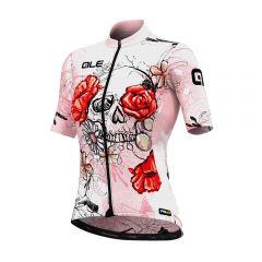 Ale SKULL ženska kolesarska majica
