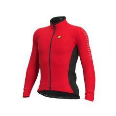 Ale SOLID FONDO moška kolesarska termo majica rdeča