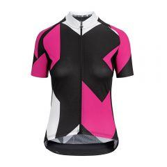 Assos FASTLANE Rock SS pongPink ženska kolesarska majica