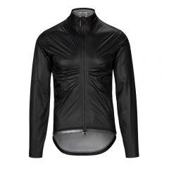 Assos EQUIPE RS Rain TARGA črna moška kolesarska dežna jakna