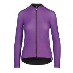 Assos UMA GT Spring Fall LS venusViolet ženska kolesarska termo majica