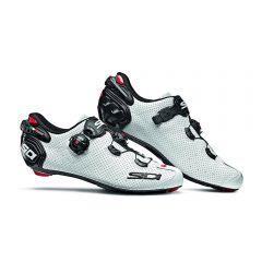 Sidi WIRE 2 AIR svetleče beli kolesarski čevlji