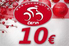 Darilni bon v vrednosti 10 €