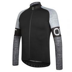 Dotout BLOCK moška termo kolesarska majica črna