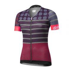 Dotout DOTS ženska kolesarska majica vijolična