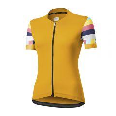 Dotout FLAG ženska kolesarska majica rumena