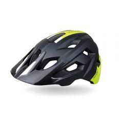 Dotout HAMMER kolesarska čelada črna/neonsko rumena