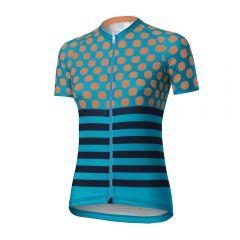 Dotout UP ženska kolesarska majica modra