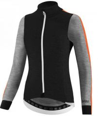 Ženska jakna Dotout LE MAILLOT black fluo orange