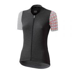 Dotout LIBERTY melange dark ženska kolesarska majica
