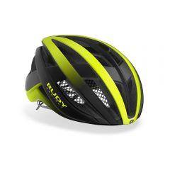 Rudy Project VENGER kolesarska čelada črna/neonsko rumena