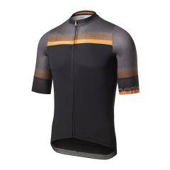 Dotout RAINBOW moška kolesarska majica črna/oranžna