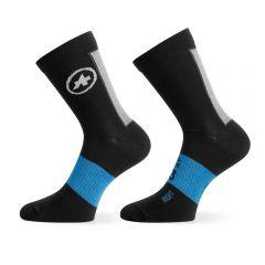 Assos WINTER Socks blackSeries termo kolesarske nogavice