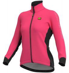 Ženska jakna Ale SOLID Fondo pink fluo