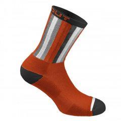 Dotout STRIPE kolesarske nogavice oranžne