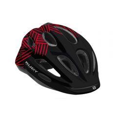 Rudy Project ROCKY otroška kolesarska čelada črna/rdeča