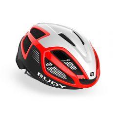 Rudy Project SPECTRUM kolesarska čelada rdeča/bela