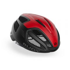 Rudy Project SPECTRUM kolesarska čelada črna/rdeča