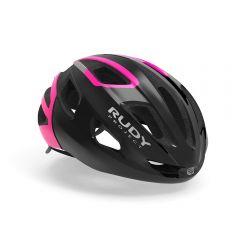Rudy Project STRYM kolesarska čelada črna/roza
