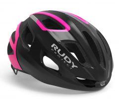Rudy Project STRYM črna-neonska pink svetleča