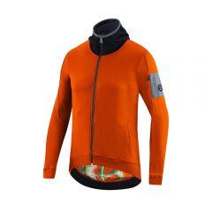 Dotout META moška kolesarska termo majica oranžna