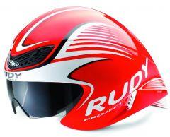 Čelada Rudy Project WING57 neonsko rdeča svetleča