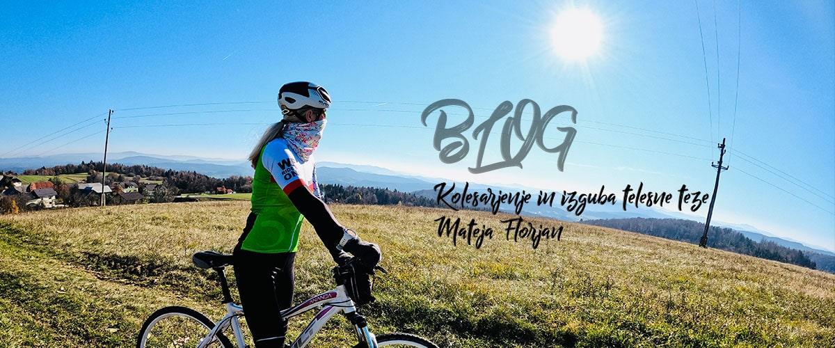 Kolesarski blog | Mateja Florjan | Kolesarjenje in izguba telesne teže