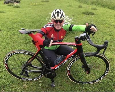 Bivši profesionalni kolesar Primož Čerin | trideseta obletnica kolesarskega podjetja