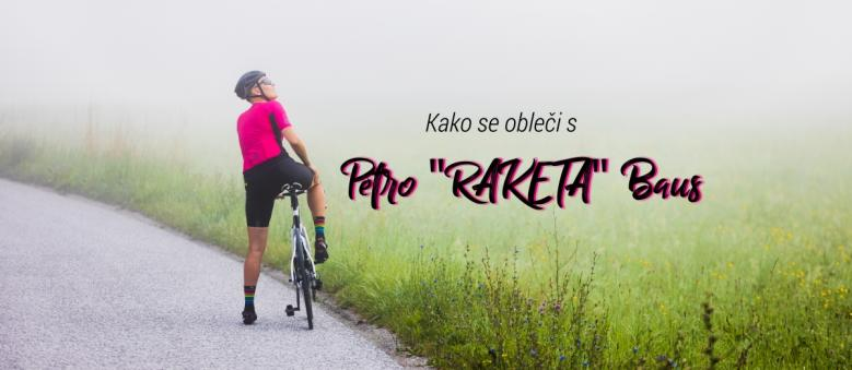 """Nasveti, kako se obleči za kolesarjenje s Petro """"Raketo"""" Baus"""